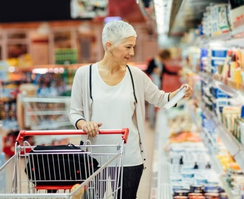 How much calcium is in your groceries?
