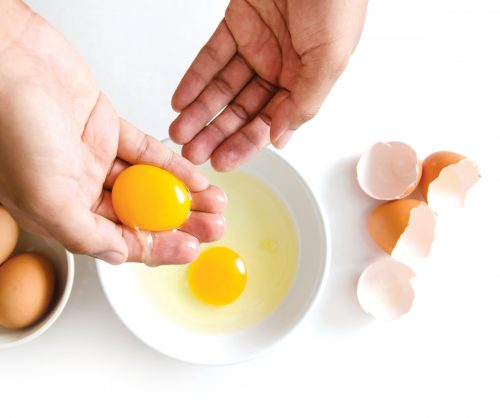 How to separate an egg