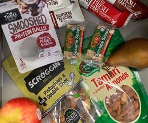 Healthy snack stash