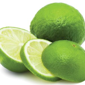 In season late winter: Limes