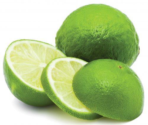 In season August: Limes
