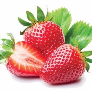 In season early autumn: Strawberries, parsley, courgettes