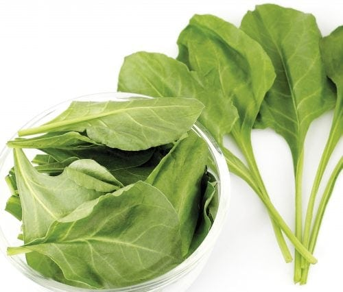 In season early spring: Spinach, tamarillos