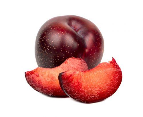 In Season early summer: Billington plums, peas