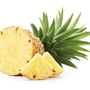 In season early autumn: Pineapple and chilli