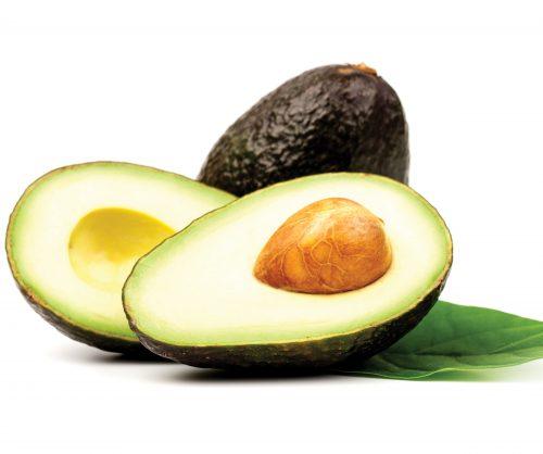 In season mid spring: Hass avocados, cavolo nero