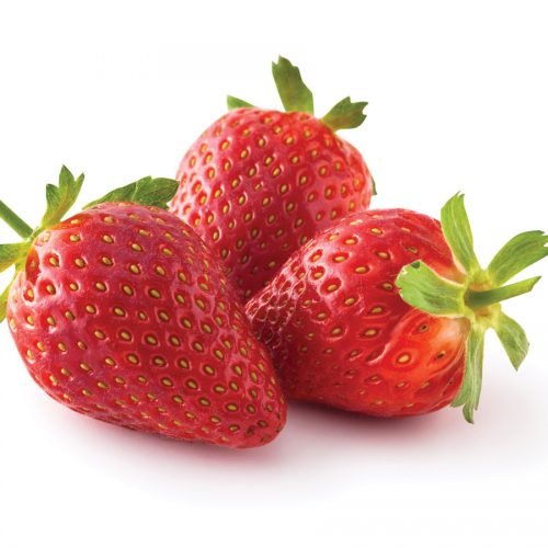 In season late spring: New potatoes and Aromas strawberries
