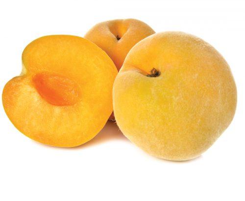 In season: Late summer golden queen peaches