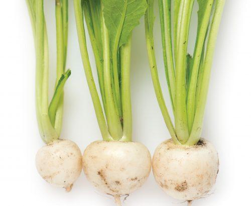 In season April: Turnips, Granny Smith apples
