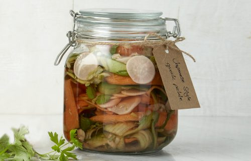 Japanese-style quick pickle
