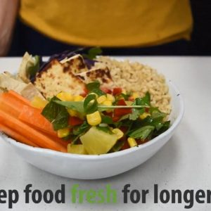 Watch now to find out how to keep your food fresher for longer (sponsored)
