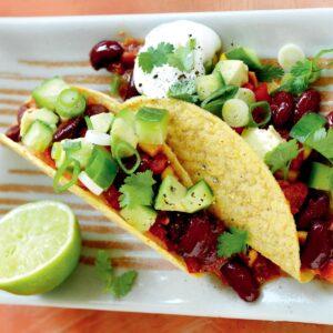 Kidney bean tacos