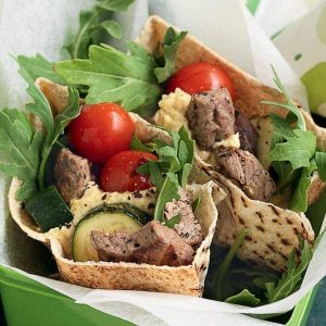 Lamb pita pocket