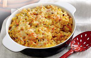 Mac 'n' cheese with pumpkin