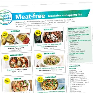 Weight-loss meal plan: Vegetarian