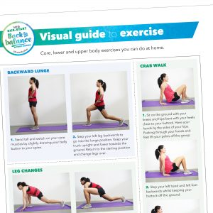 Visual guide to body weight exercises
