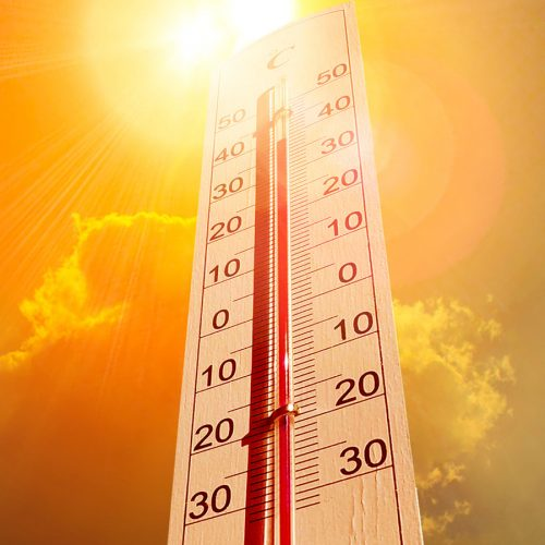 On track for the hottest five years on record