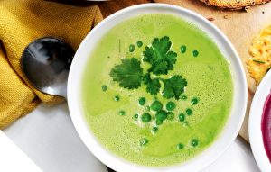 Pea and fennel soup