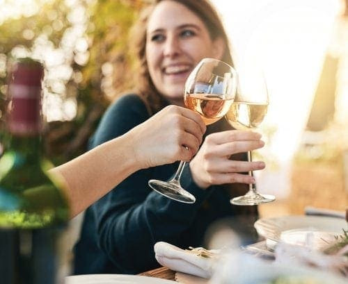 Portion distortion: Wine