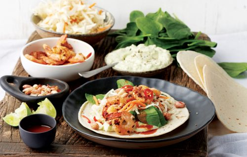 Weeknight meal plan: Prawn tacos, miso lamb, Japanese noodles, BBQ chicken