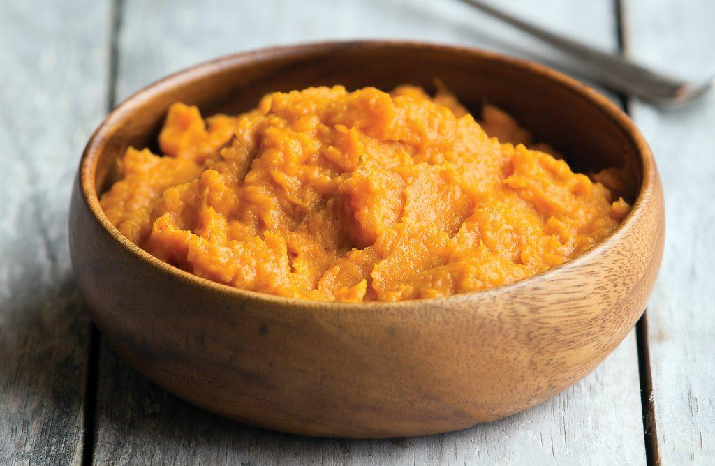 Pumpkin miso mash