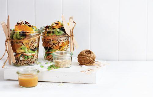 Make ahead plant-based lunches