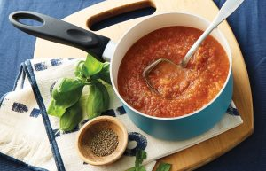 Rich vege-packed tomato sauce