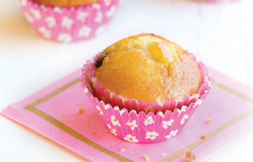 Sultana, almond and lemon muffins