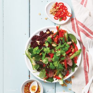 Thai lamb salad