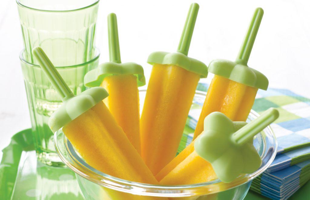 Tropical smoothie ice blocks