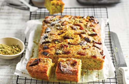 Turmeric and lemon parsnip cake
