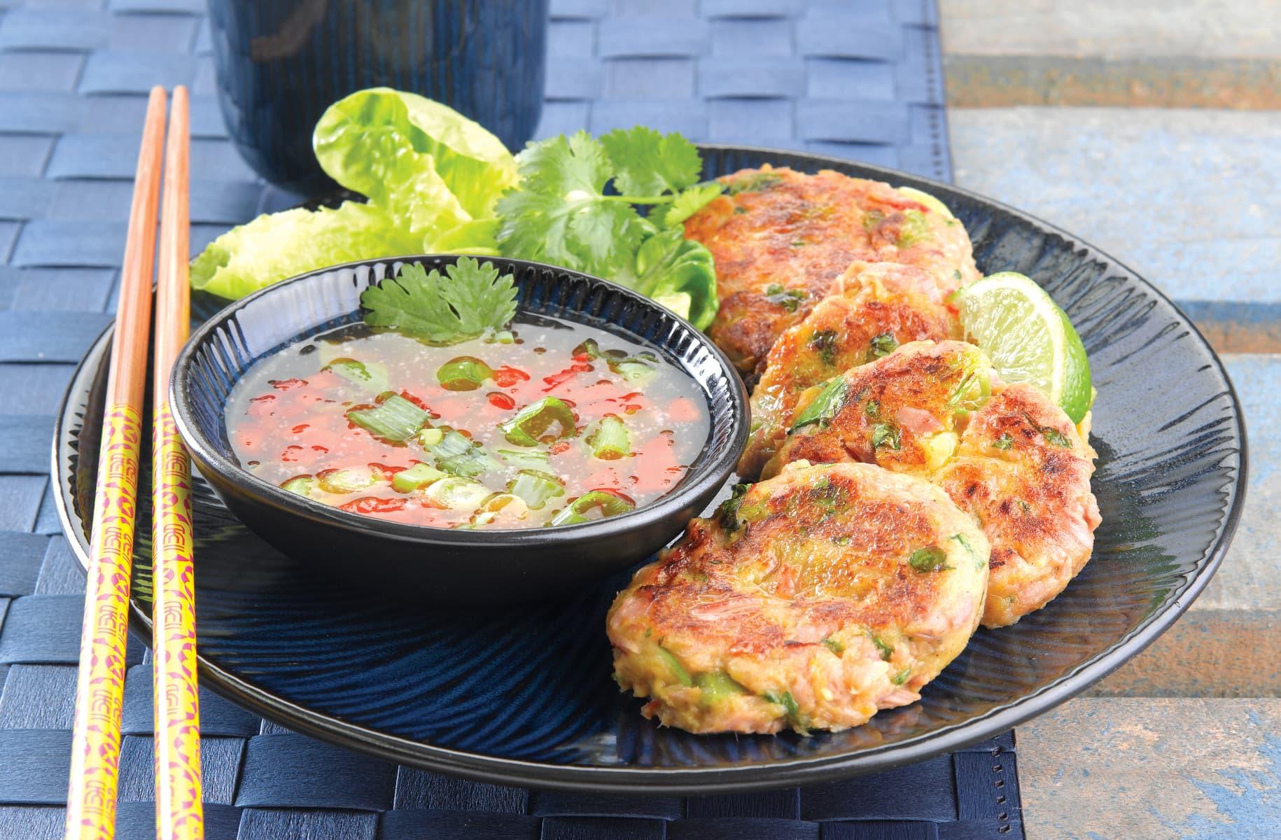 Kumara Fish Cakes