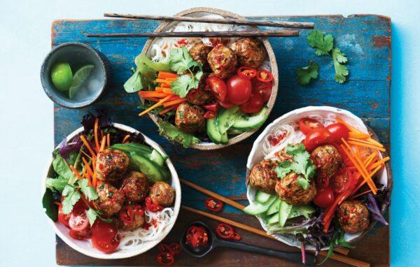 Vietnamese meatball bún cha