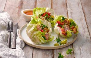 Zesty avocado and tuna salad