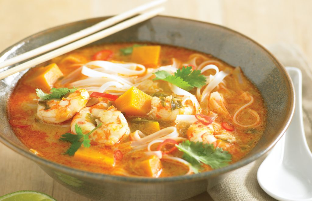 Prawn And Pumpkin Laksa Healthy Food Guide