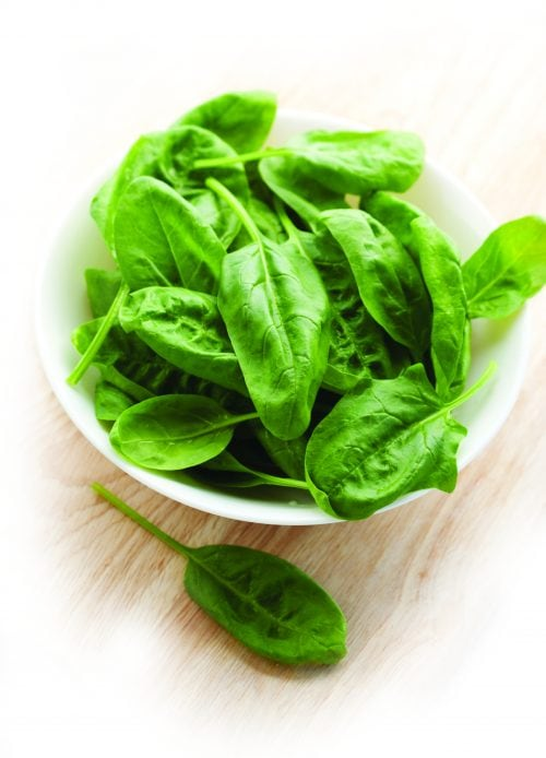 10 ways with baby spinach