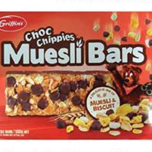 Griffin's recalls Choc Chippie Muesli Bars