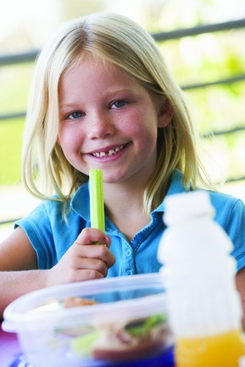 21 top tips for school lunches