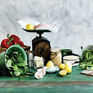 Five meals from 10 ingredients