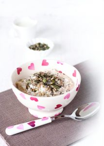 Almond and mixed seed porridge