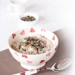 Almond and mixed seed porridge