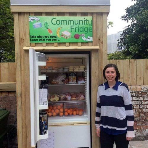 Auckland's first community fridge opens doors