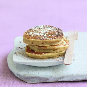 Apple and cinnamon pikelets
