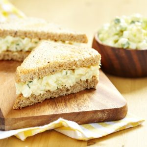 How to make egg sandwiches healthier