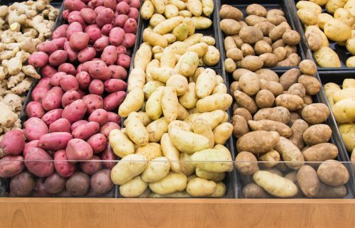 Does cutting up root vegetables cause nutrient loss?