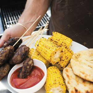 Barbecue corn-on-the-cob