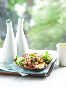 Bean nicoise salad