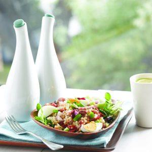 Bean Niçoise salad