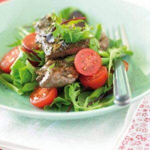 Beef and lemongrass salad