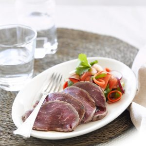 Beef carpaccio, Japanese-style